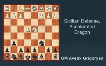 1. Sicilian Defense, Accelerated Dragon
