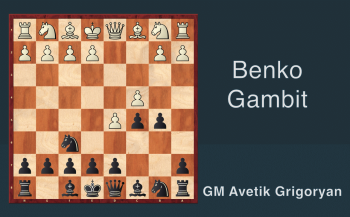 3. Benko Gambit