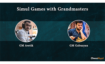 Simul Game with GM Gabuzyan and GM Avetik with LIVE Comments